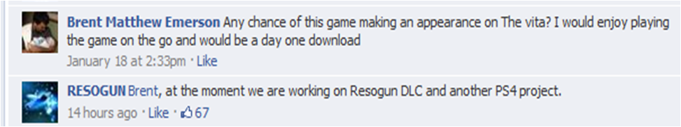 Resogun DLC & New PS4 Title Coming From Housemarque